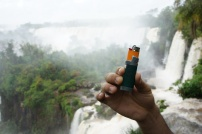 Chilling at Iguazu falls