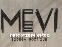 At Mevi boutique winery, Mendoza