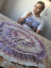 Smokin pesos in buenos aires!