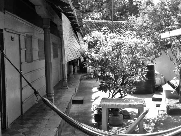Hostel La Mexicana Courtyard
