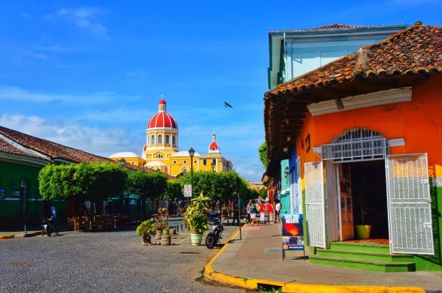 The Calzada or restaurant strip
