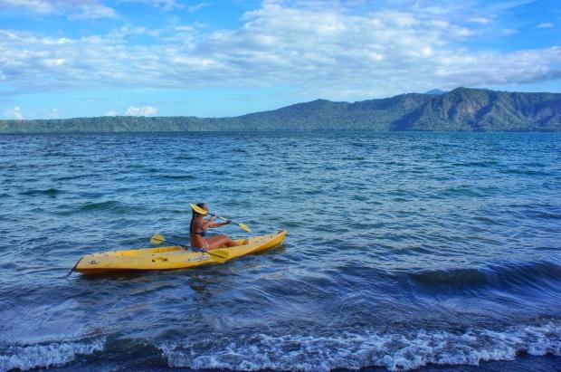 Kayak lake laguna Apoyo