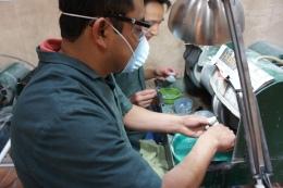 Making jade jewellery