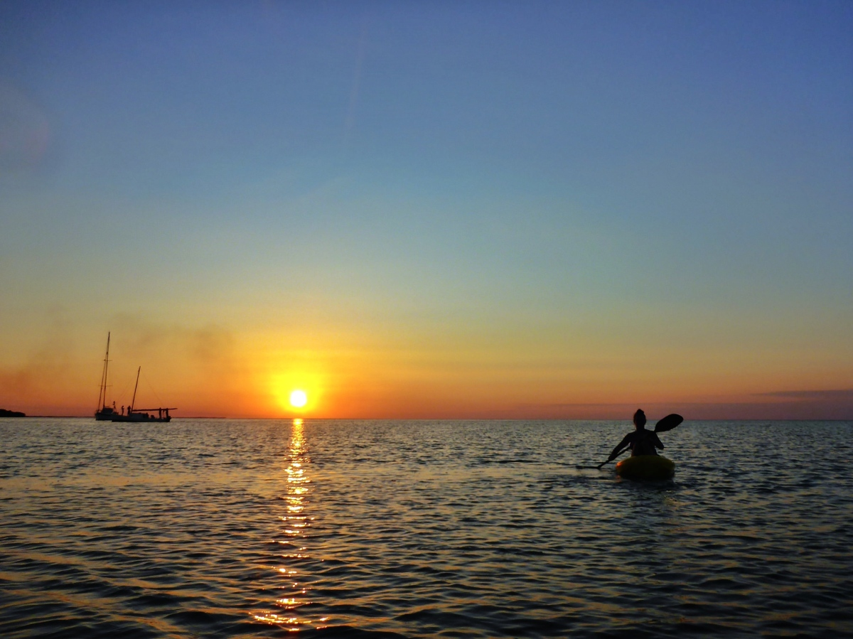 Seafood, sunsets and swimming in Caye Caulker, Belize